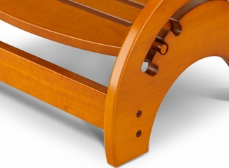 Kids Step Stool - Nursing Stool in Honey - KidKraft Furniture - 15141