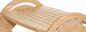 Kids Step Stool - Nursing Stool in Natural - KidKraft Furniture - 15121