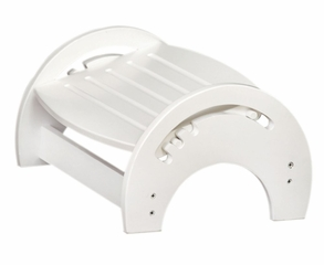 Kids Step Stool - Nursing Stool in White - KidKraft Furniture - 15101