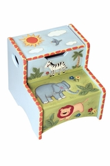 Kids Step Stool - Safari - Guidecraft - G83206