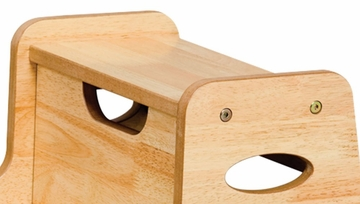 Kids Step Stool - Two Step Stool in Natural - KidKraft Furniture - 15511