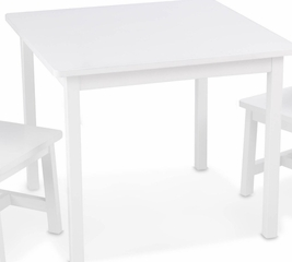 Kids Table and Chair Set - Aspen Table and 2 Chairs Set in White - KidKraft Furniture - 21201