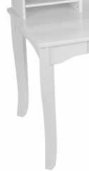 Kids Table and Chair Set - Avalon Desk with Hutch in White - KidKraft Furniture - 26705