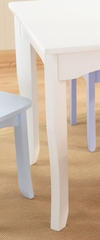 Kids Table - Brighton Table in White - KidKraft Furniture - 26701