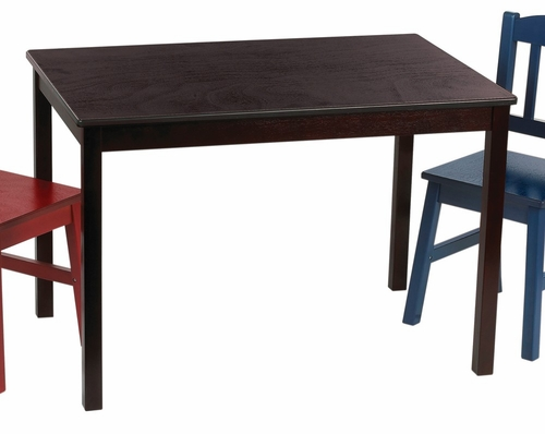 Kids Table - Discovery Table in Espresso - Guidecraft - G85902