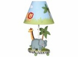 Kids Table Lamp - Safari Lamp - Guidecraft - G83207