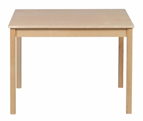 Kids Table - Woodscape Table in Natural - Guidecraft - G6432