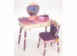 Kids Vanity Table Set - Princess Vanity Table and Chair Set - LOD20021