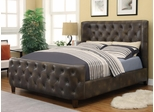 King Bomber Jacket Upholstered Bed - 300249KE