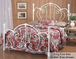 King Size Bed - Cherie Eastern King Size Metal Bed