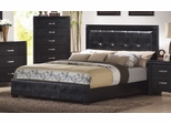 King Size Bed - Dylan Eastern King Size Bed in Black - Coaster - 201401KE