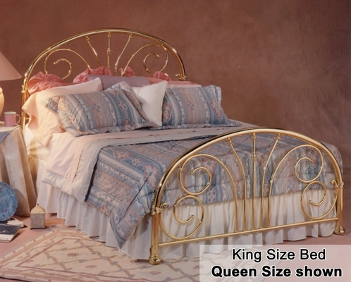 King Size Bed - Jackson Eastern King Size Bed Metal Bed
