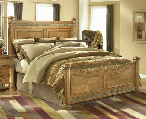 King Size Bed - King Size Panel Bed - Wynwood Furniture - 1720-91