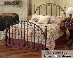 King Size Bed - Kirkwell Eastern King Size Bed Metal Bed