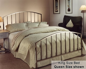King Size Bed - Lincoln Park Eastern King Size Metal Bed
