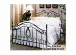 King Size Bed - Milano Eastern King Size Metal Bed
