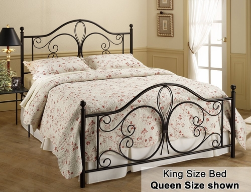 King Size Bed - Milwaukee Eastern King Size Metal Bed