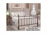 King Size Bed - Providence Eastern King Size Metal Bed