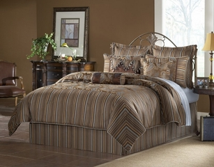 King Size Comforter Set - 14 Piece Set in Gavin Pattern - 82EQ713GVN