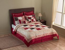 King Size Comforter Set - 14 Piece Set in Monarch Pattern - 82EQ713MON