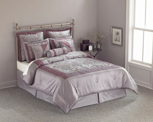 King Size Comforter Set - 14 Piece Set in Pagoda Pattern - 82EQ713PAG
