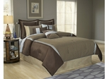 King Size Comforter Set - 14 Piece Set in Stockton Pattern - 82EQ713STK