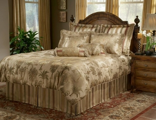 King Size Comforter Set - 14-Piece Super Pack in Capri Pattern - 80EQ713CAP