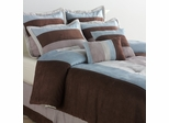 King Size Comforter Set - Conrad 8 Piece Set in Multi / Spice - CON-KING-COMFORT-SET