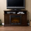 Kingsbury Media Espresso Electric Fireplace - Holly and Martin