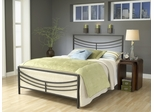 Kingston Full Size Bed in Brown - Hillsdale Furniture - 1503BFR