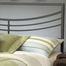 Kingston King Size Headboard with Frame in Brown - Hillsdale Furniture - 1503HKR
