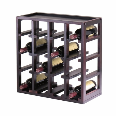 Kingston Stackable Slot Wine Cube - Winsome Trading - 92144