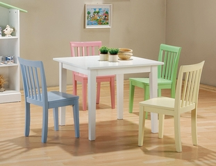 Kinzie 5 Piece Multicolor Youth Table and Chair Set  - 460235
