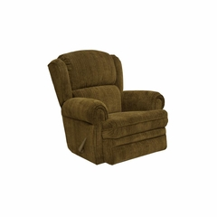 Kirkland Chocolate Rocker Recliner - Catnapper