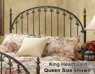 Kirkwell Eastern King Size Metal Headboard - 1038-670