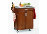 Kitchen Cart in Cottage Oak with Granite top - 90010063