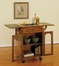 "Kitchen Cart - ""Noble Oak"" - Powell Furniture - 439-462"