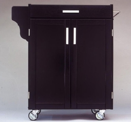 Kitchen Cart - Small Create-a-Cart with Granite Top in Cherry - Home Styles - 9001-0076