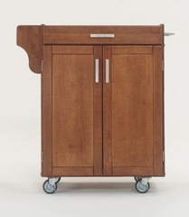 Kitchen Cart - Small Create-a-Cart with Granite Top in Cottage Oak - Home Styles - 9001-0066