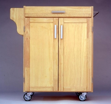 Kitchen Cart - Small Create-a-Cart with Granite Top in Natural - Home Styles - 9001-0016