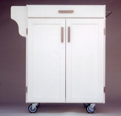 Kitchen Cart - Small Create-a-Cart with Granite Top in White - Home Styles - 9001-0026
