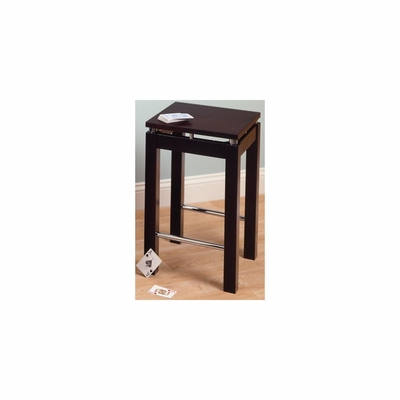 Kitchen Counter Stool in Espresso Finish - Winsome Trading - 92724