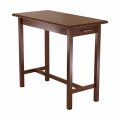 Kitchen Island in Antique Walnut - Winsome Trading - 94540