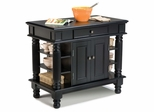 Kitchen Island in Black - Home Styles - 5092-94
