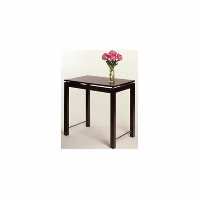 Kitchen Island Table in Espresso Finish - Winsome Trading - 92736