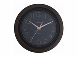 Kitchen Wall Clock in Black - 6551-BLACK