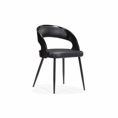 Kiwi Dining Chair with Leatherette Seat - Zuo
