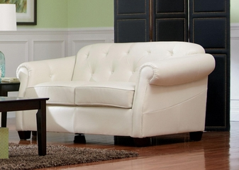 Kristyna Bonded Leather Loveseat - 502552