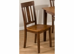 Kura Espresso and Canyon Gold Chair - Set of 2 - 875-265KD
