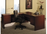 L-Shaped Desk - Bush Office Furniture - OFFPKG-28